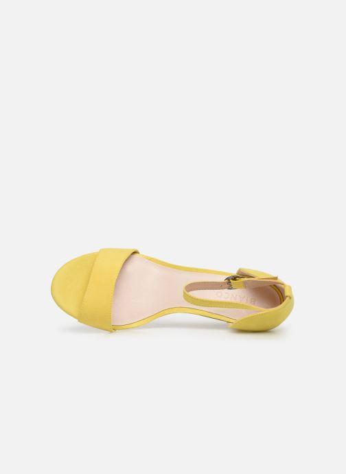 Sandales et nu-pieds Bianco 20-50098 Jaune vue gauche