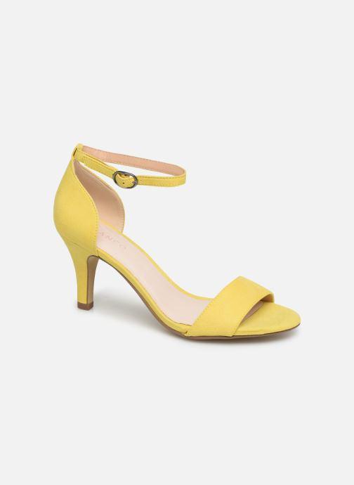 Sandales et nu-pieds Bianco 20-50098 Jaune vue détail/paire