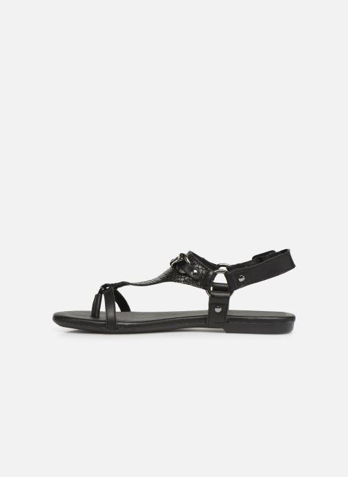 Sandales et nu-pieds Bianco 20-50107 Noir vue face