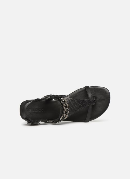 Sandales et nu-pieds Bianco 20-50107 Noir vue gauche