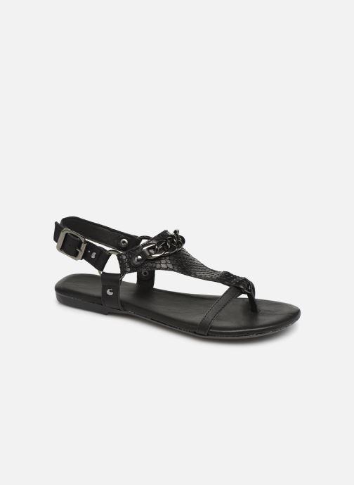 Sandales et nu-pieds Bianco 20-50107 Noir vue détail/paire