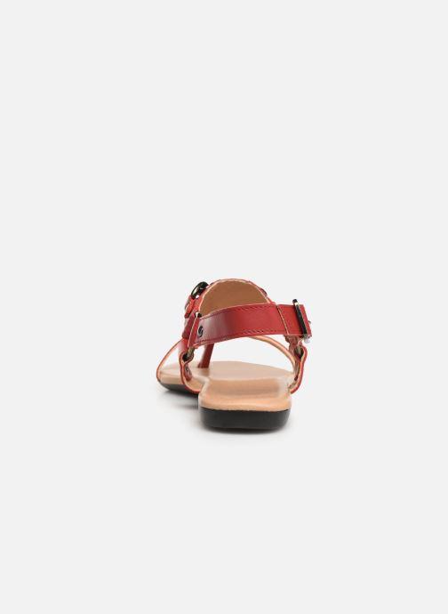 Sandalen Bianco 20-50107 Rood rechts