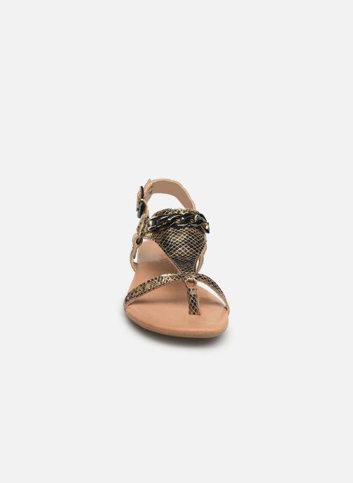 Sandalen Bianco 20-50107 Goud en brons model