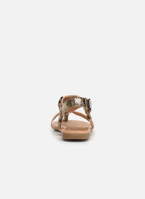 Sandalen Bianco 20-50107 Goud en brons rechts