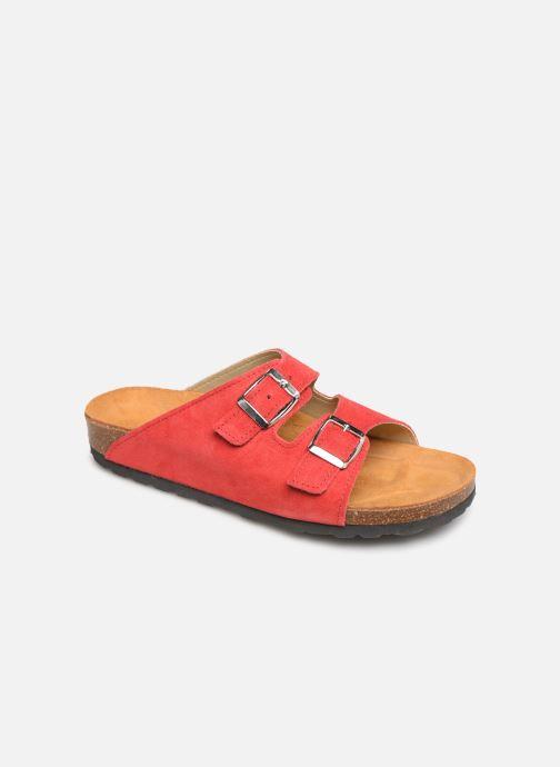 Mules et sabots Bianco 21-49661 Rouge vue détail/paire