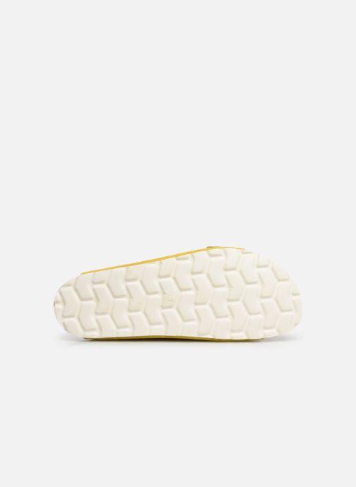 Zuecos Bianco 21-49661 Amarillo vista de arriba