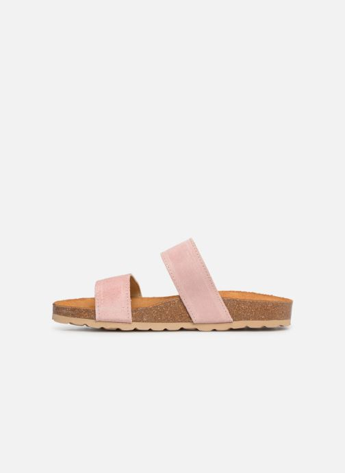 Mules & clogs Bianco 21-49729 Pink front view