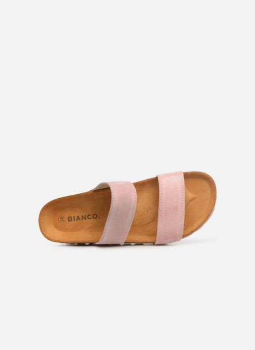 Mules & clogs Bianco 21-49729 Pink view from the left