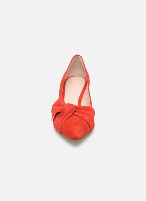 Escarpins Bianco 24-50069 Rouge vue portées chaussures