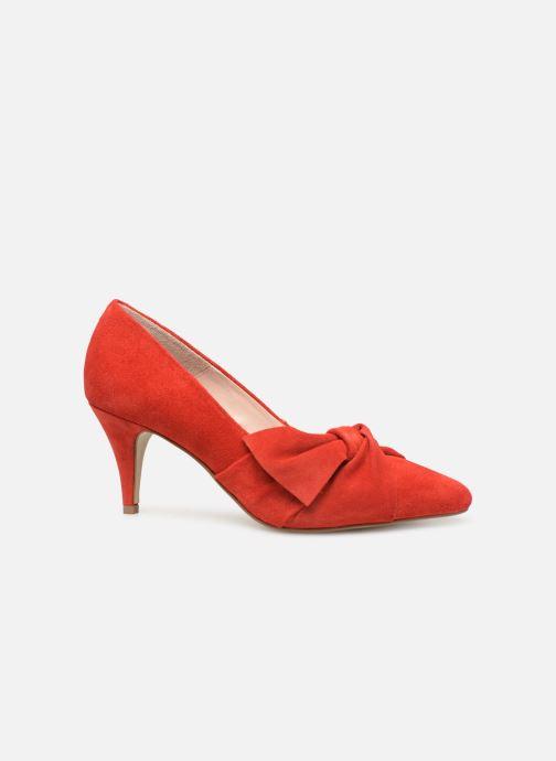 Zapatos de tacón Bianco 24-50069 Rojo vistra trasera