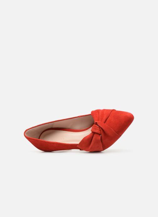 Zapatos de tacón Bianco 24-50069 Rojo vista lateral izquierda