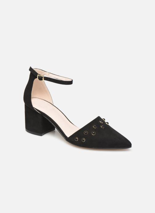 Høje hæle Bianco 24-50105 Sort detaljeret billede af skoene