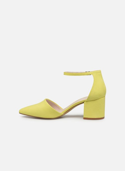High heels Bianco 24-50105 Yellow front view