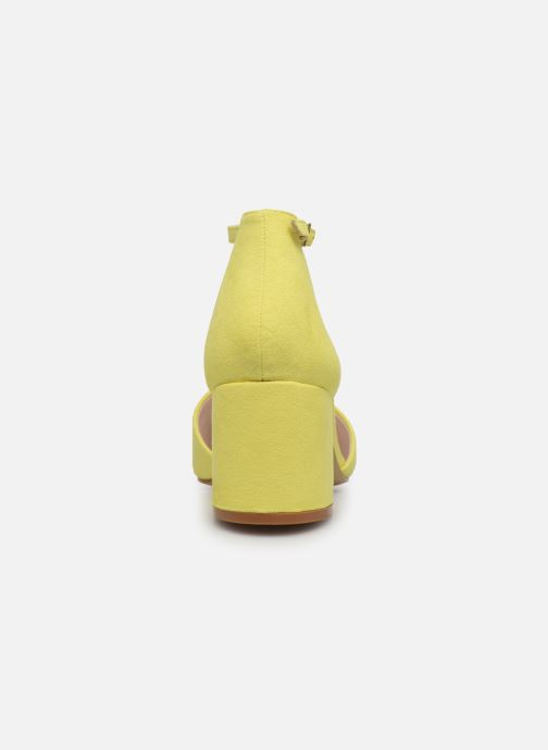 Pumps Bianco 24-50105 Geel rechts