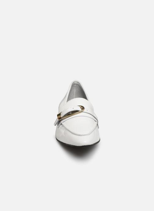 Mocassins Bianco 25-50052 Blanc vue portées chaussures