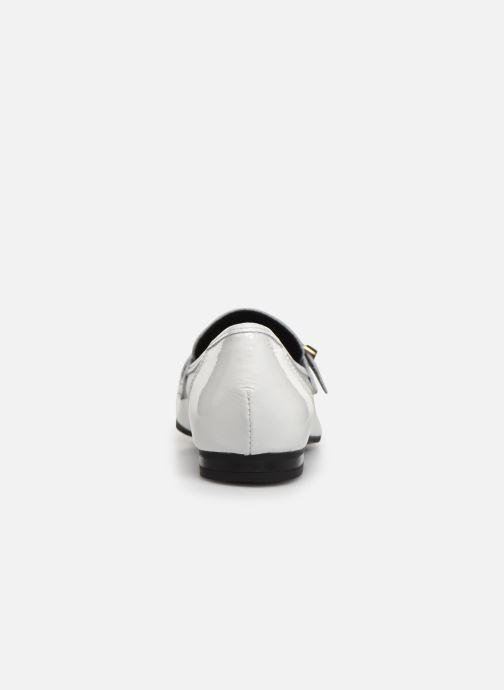 Mocasines Bianco 25-50052 Blanco vista lateral derecha