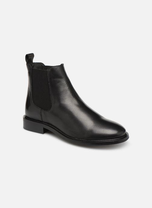 Ankelstøvler Bianco 26-50097 Sort detaljeret billede af skoene