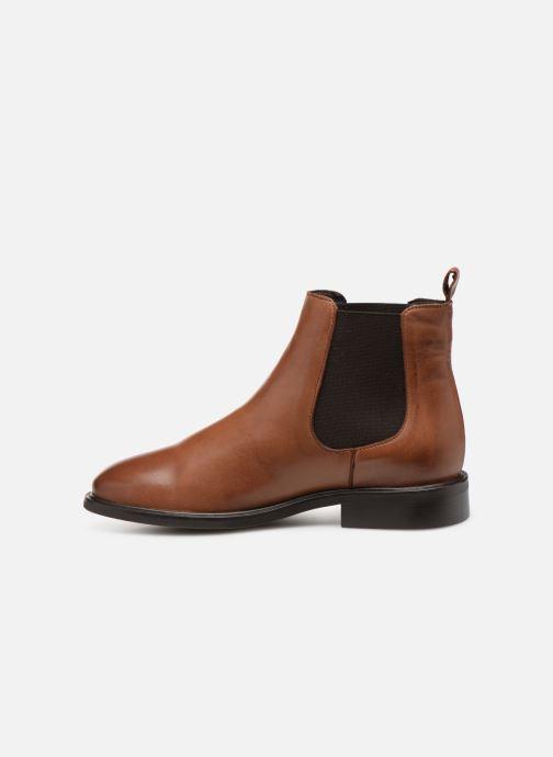 Bottines et boots Bianco 26-50097 Marron vue face