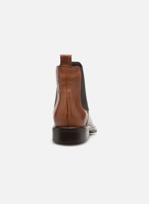 Bottines et boots Bianco 26-50097 Marron vue droite