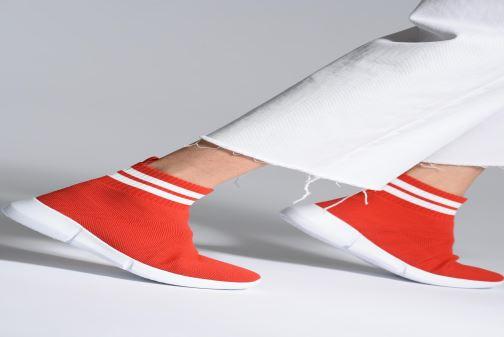Sneakers Bianco 32-49843 Rood onder