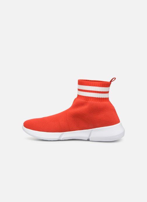 Sneakers Bianco 32-49843 Rood voorkant