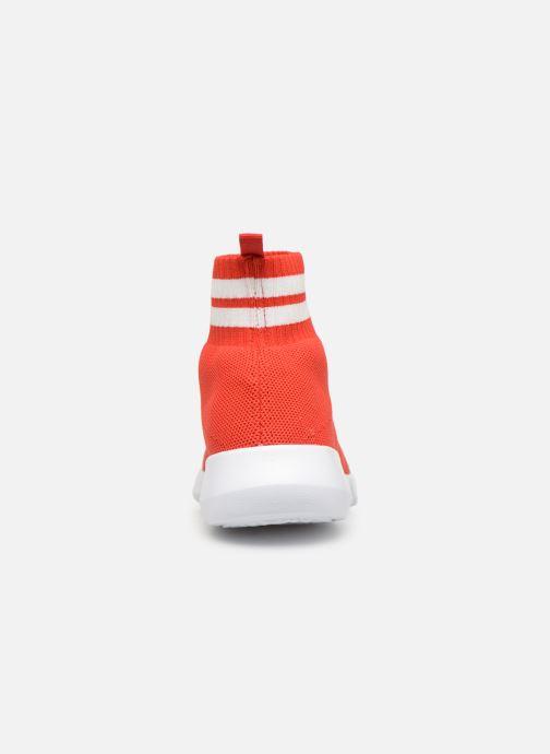Sneakers Bianco 32-49843 Rood rechts