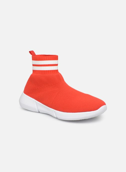 Sneakers Bianco 32-49843 Rood detail