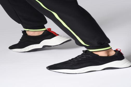 Sneakers Bianco 32-50108 Zwart onder