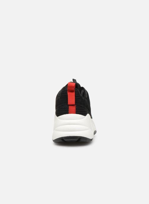 Sneakers Bianco 32-50108 Zwart rechts