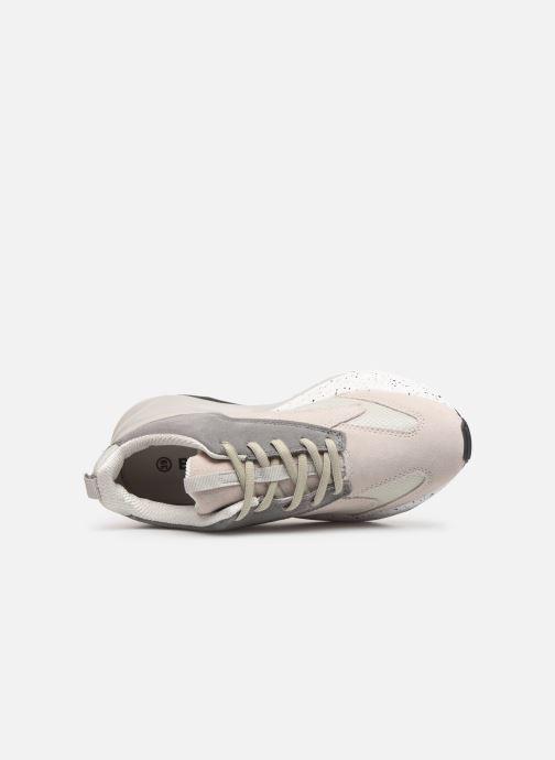 Sneakers Bianco 32-50108 Grijs links