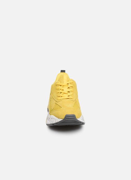 Baskets Bianco 32-50108 Jaune vue portées chaussures