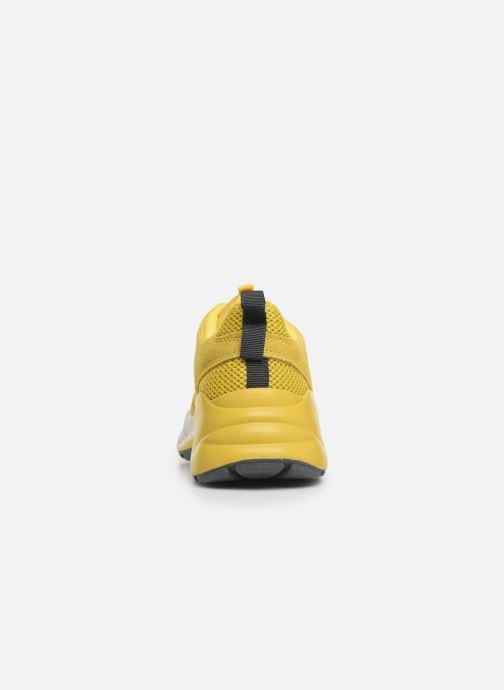 Sneakers Bianco 32-50108 Geel rechts