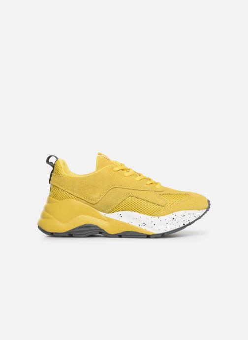 Sneakers Bianco 32-50108 Geel achterkant