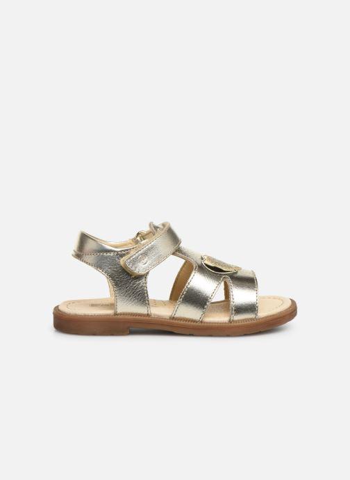 Sandales et nu-pieds Naturino Falcotto Puppet Or et bronze vue derrière