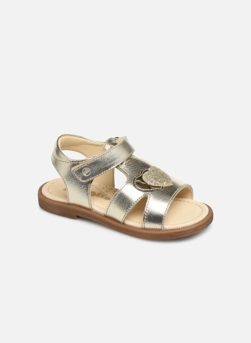 Sandales et nu-pieds Naturino Falcotto Puppet Or et bronze vue détail/paire