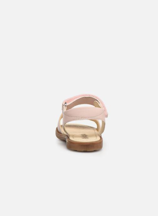 Sandales et nu-pieds Naturino Falcotto Bucket Rose vue droite