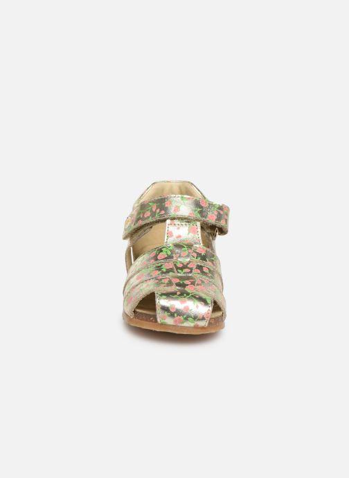Sandales et nu-pieds Naturino Falcotto Bartlett Or et bronze vue portées chaussures