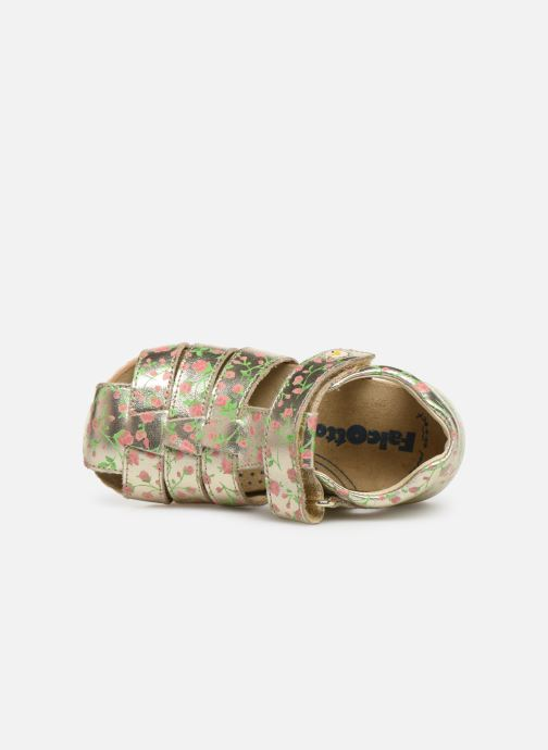 Sandales et nu-pieds Naturino Falcotto Bartlett Or et bronze vue gauche