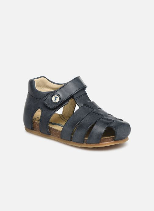 Sandals Naturino Falcotto Bartlett Blue detailed view/ Pair view