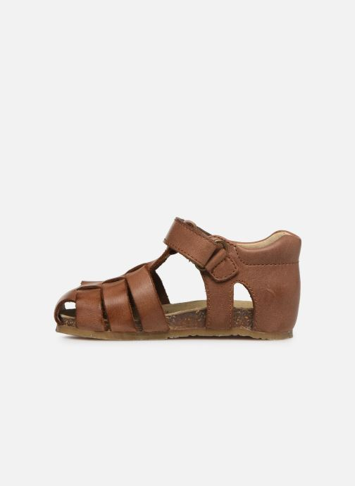 Sandals Naturino Falcotto Bartlett Brown front view