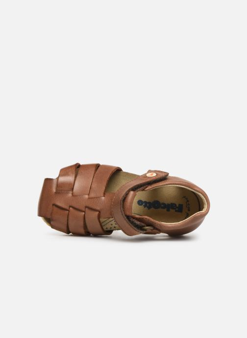 Sandals Naturino Falcotto Bartlett Brown view from the left