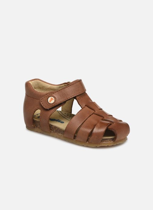 Sandals Naturino Falcotto Bartlett Brown detailed view/ Pair view