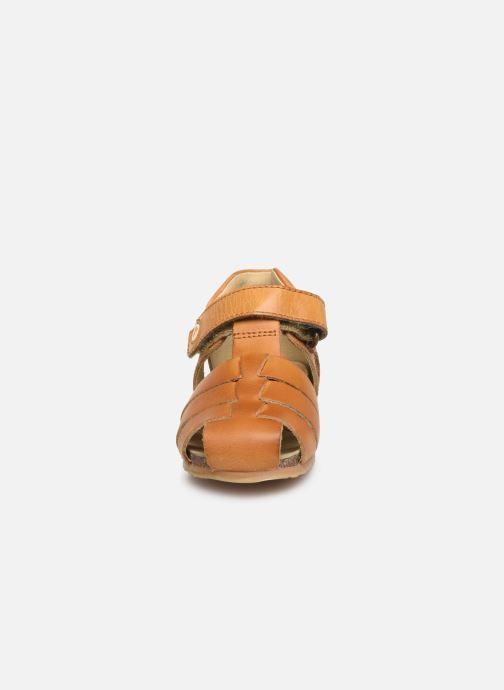 Sandales et nu-pieds Naturino Falcotto Bartlett Marron vue portées chaussures