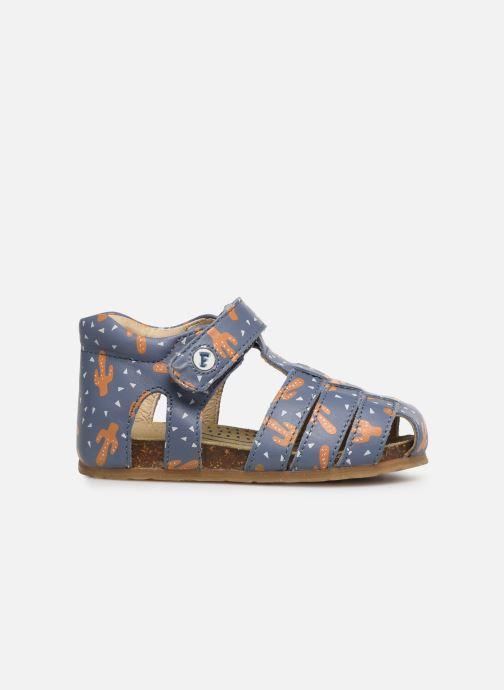Sandales et nu-pieds Naturino Falcotto Bartlett Bleu vue derrière