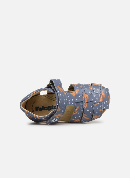 Sandals Naturino Falcotto Bartlett Blue view from the left