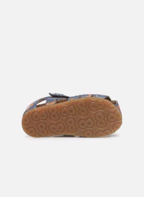 Sandales et nu-pieds Naturino Falcotto Bartlett Bleu vue haut