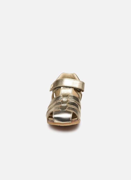 Sandalen Naturino Falcotto Bartlett gold/bronze schuhe getragen