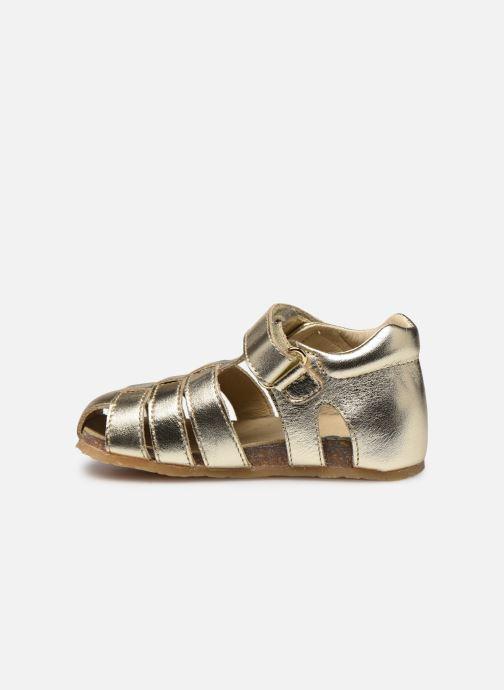 Sandales et nu-pieds Naturino Falcotto Bartlett Or et bronze vue face