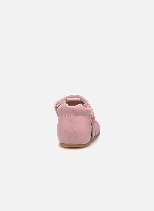 Sandalen Naturino Falcotto Bartlett rosa ansicht von rechts
