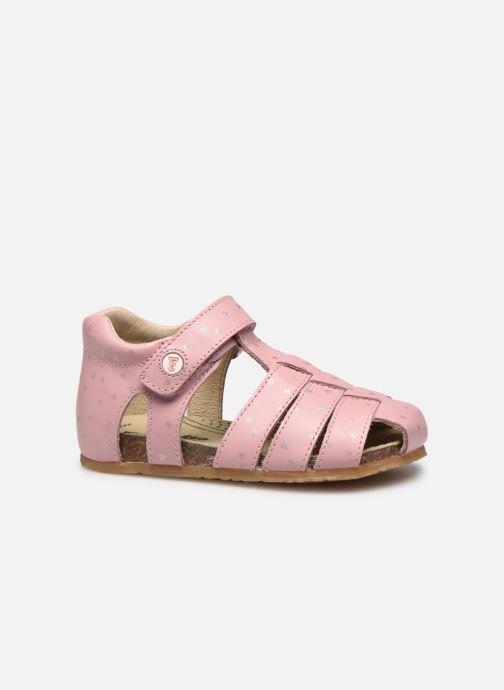 Sandalen Naturino Falcotto Bartlett rosa ansicht von hinten